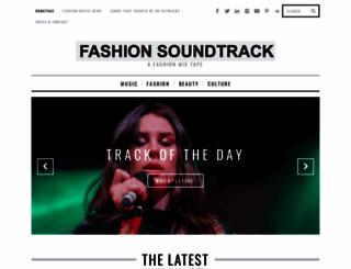 fashionsoundtrack.com screenshot