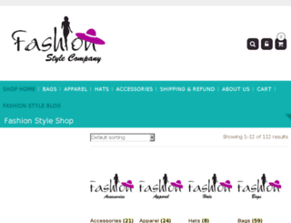 fashionstyleco.com screenshot