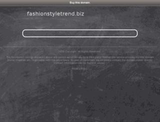 fashionstyletrend.biz screenshot