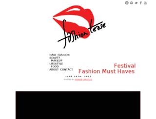 fashiontease.tv screenshot
