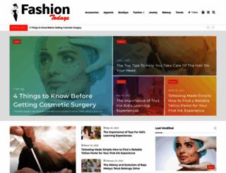 fashiontodays.com screenshot