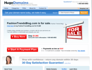 fashiontrendsblog.com screenshot