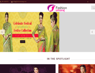 fashionumang.com screenshot