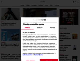 fashionunited.es screenshot