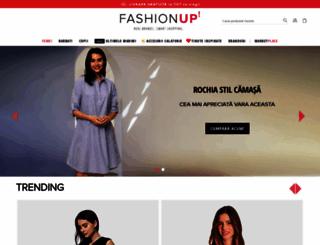 fashionup.ro screenshot