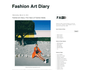 fashionversusart.blogspot.fr screenshot