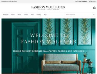 fashionwallpaper.co.uk screenshot