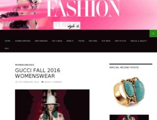 fashionway.ca screenshot