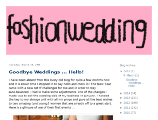 fashionweddingideas.com screenshot
