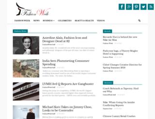 fashionweek.com screenshot