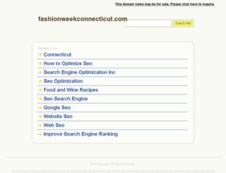 fashionweekconnecticut.com screenshot
