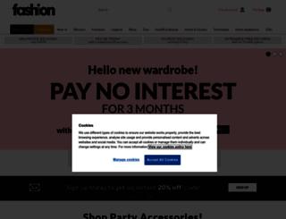 fashionworld.co.uk screenshot