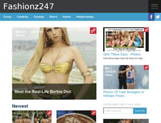 fashionz247.com screenshot