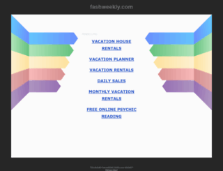 fashweekly.com screenshot