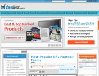 faslist.com screenshot