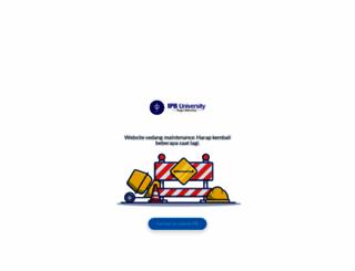 faspro.ipb.ac.id screenshot