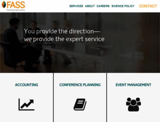 fass.org screenshot