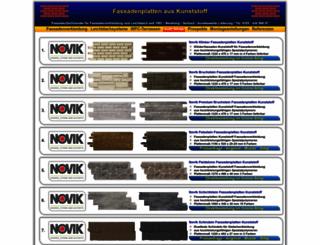 fassadenplatten-kunststoff.de screenshot