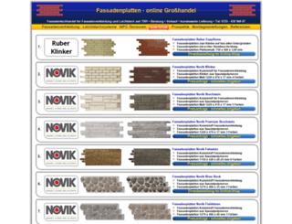 fassadenplatten.eu screenshot