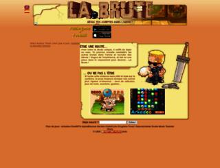 fassino.labrute.fr screenshot