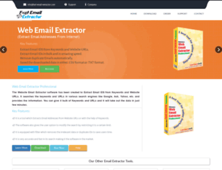 fast-email-extractor.com screenshot