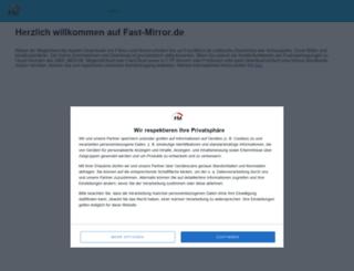 fast-mirror.de screenshot