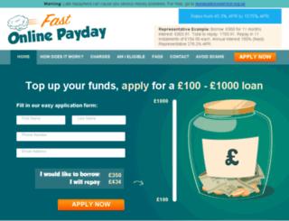 fast-online-payday.com screenshot