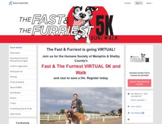 fastandfurriest5k.racesonline.com screenshot