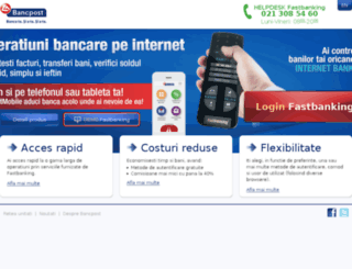 fastbanking.ro screenshot