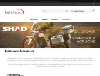fastbikebits.com screenshot