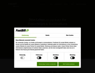 fastbill.com screenshot