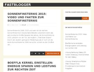 fastblogger.de screenshot
