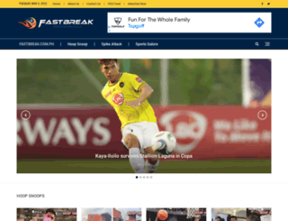 fastbreak.com.ph screenshot