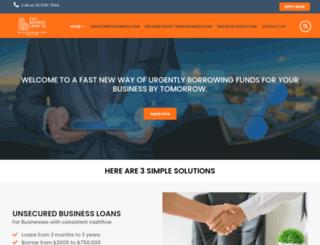 fastbusinessloans.co screenshot