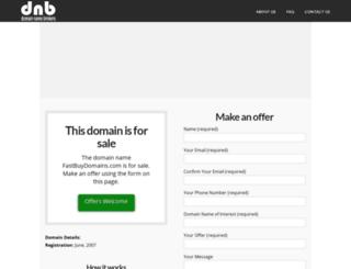 fastbuydomains.com screenshot