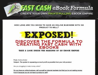 fastcashebookformula.com screenshot