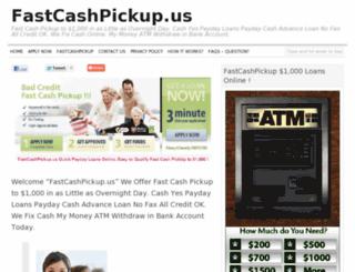 fastcashpickup.us screenshot