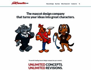 fastcharacters.com screenshot