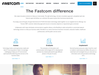 fastcom.co.nz screenshot