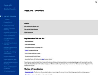 fastdocs.travelfusion.com screenshot