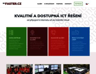 faster.cz screenshot