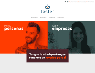 faster.es screenshot