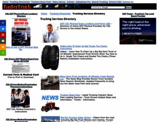 fastertruck.com screenshot