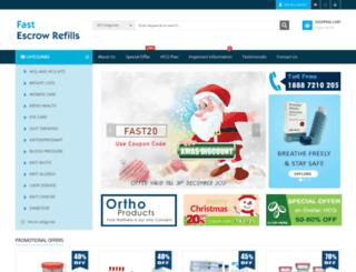 fastescrowrefills.net screenshot