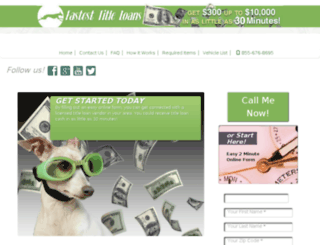 fastest-title-loan.com screenshot