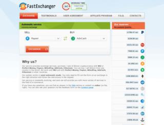 fastexchanger.net screenshot
