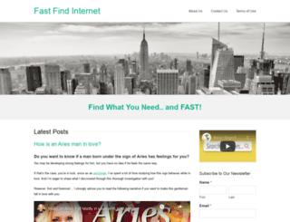 fastfindinternet.com screenshot