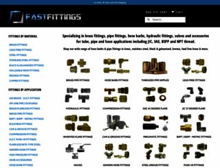 fastfittings.com screenshot