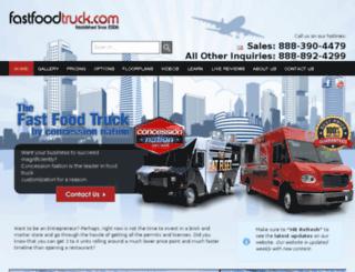 fastfoodtruck.com screenshot