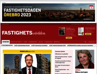 fastighetsvarlden.se screenshot